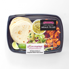 All Natural Chipotle Chicken Street Tacos Meal
