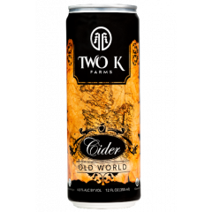 Two K Farms Old World Cider 6-pack cans