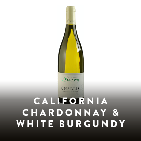 California Chardonnay & White Burgundy